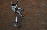 Banksy revendique la paternité du graffiti sur les murs d'une prison anglaise de Reading