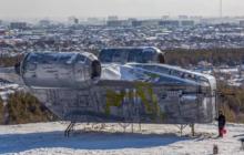 Des fans de Star Wars font atterrir le vaisseau de
