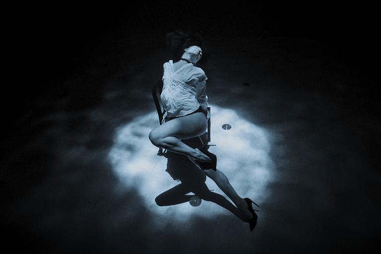 Un tango à dix mètres de profondeur sous l'eau