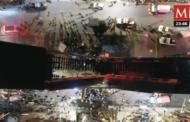 Un pont s'effondre sous une rame de métro à Mexico, 23 morts et près de 70 blessés