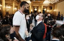 [Tokyo 2020] Les médaillés français célébrés à l'Elysée
