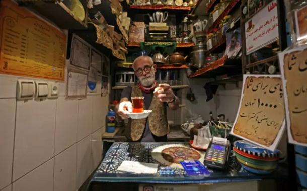 Au cœur de la plus vieille maison de thé de Téhéran